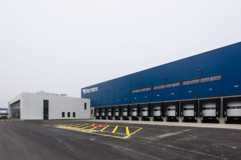 Berlin-Brandenburg Hermes logistics centre in Ketzin/Havel. (Photo: Hermes)    infrastructure; logistics centre; Berlin;