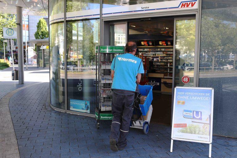 Hermes ParcelShop in Hamburg. (Photo: Hermes)