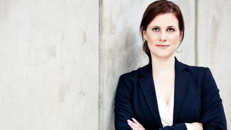 Claudia Schanz, Pressesprecherin Hermes Europe. (Foto: Hermes)