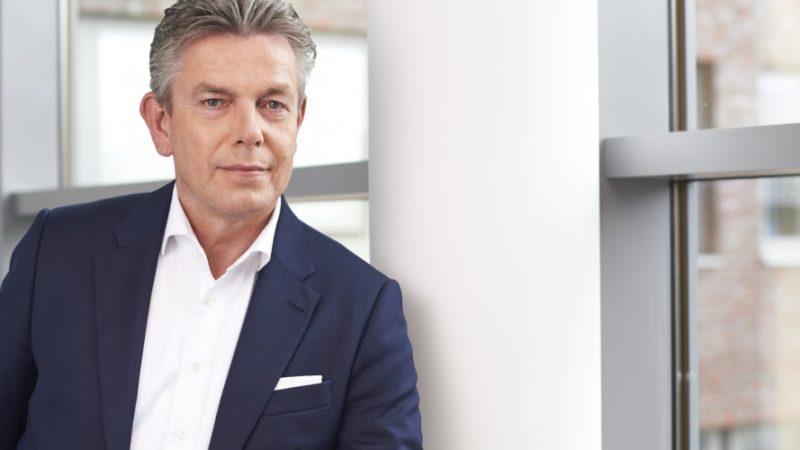 Hermes-CEO Frank Rausch in Hamburg: Die Hermes Logistik Gruppe Deutschland und Hermes Transport Logistics verschmelzen zu Hermes Germany. (Foto: Hermes)