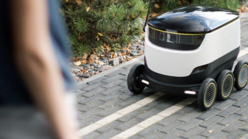 Autonome Zustellung per Roboter: Hermes Germany und Starship Technologies haben eine strategische Kooperation vereinbart. (Foto: Starship)