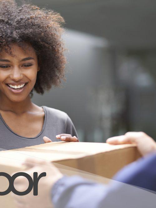 tudoor ermöglicht es Kunden von Online Shops, selbstständig zu bestimmen, wann sie ein geliefertes Paket in Empfang nehmen wollen. (Foto: tudoor)