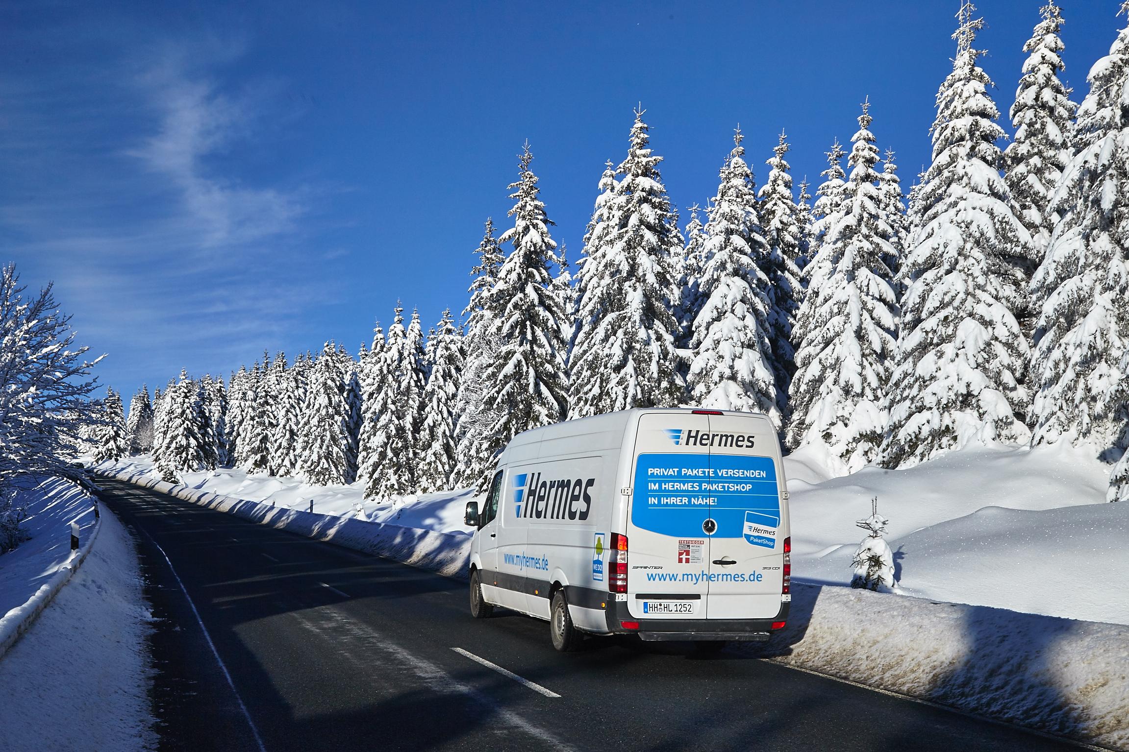 Weihnachten 2018: Hermes stockt Personal- & Fahrzeugkapazitäten auf ...