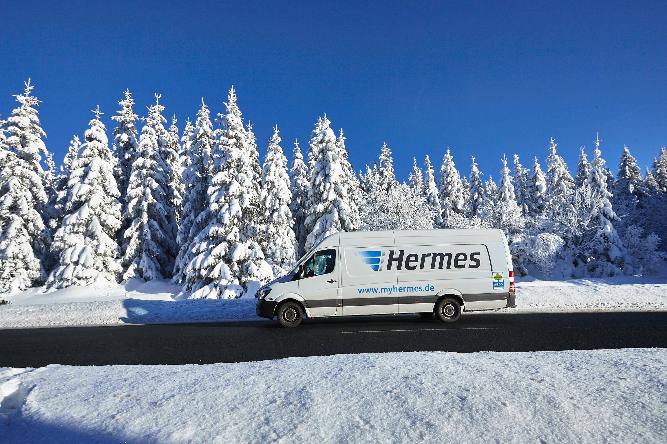 Weihnachten 2016 Hermes Erwartet So Viele Pakete Wie Nie