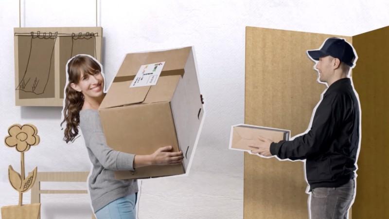 Kleiderspenden im Karton: PACKMEE freut sich über Kleidung, Schuhe und Haushaltstextilien für den guten Zweck. (Foto: PACKMEE)