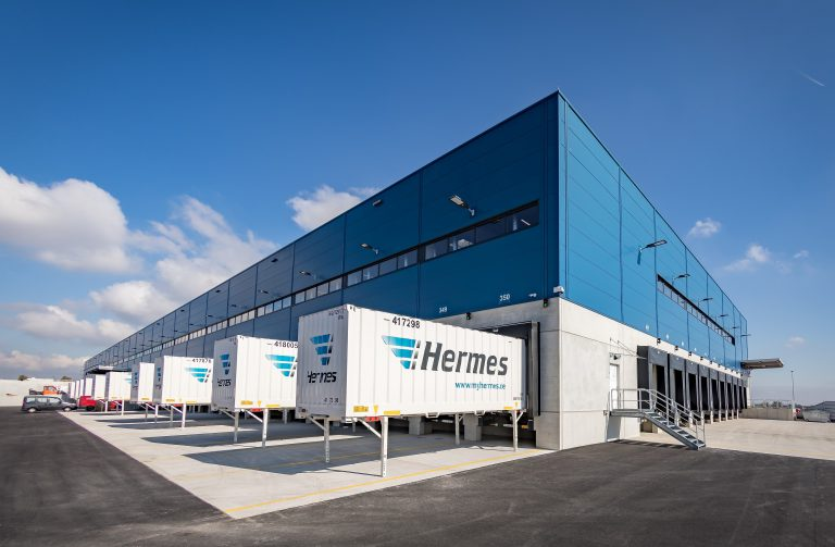 Mit seiner verkehrsgünstigen Lage in unmittelbarer Nähe zur A60 und A63 besitzt der neue Standort in Mainz ideale Voraussetzungen. (Foto: Hermes)