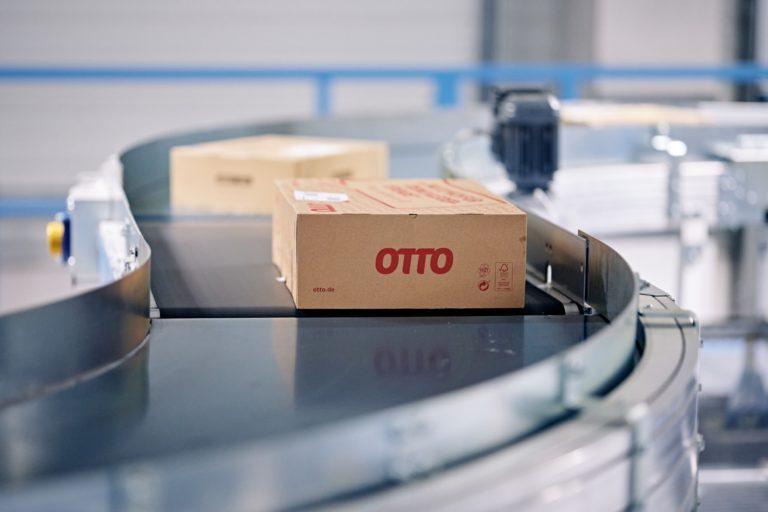 Paketsortierung im Hermes Depot Witten. (Foto: Hermes/Willing-Holtz)  Paket; Sortieranlage; Depot; Päckchen