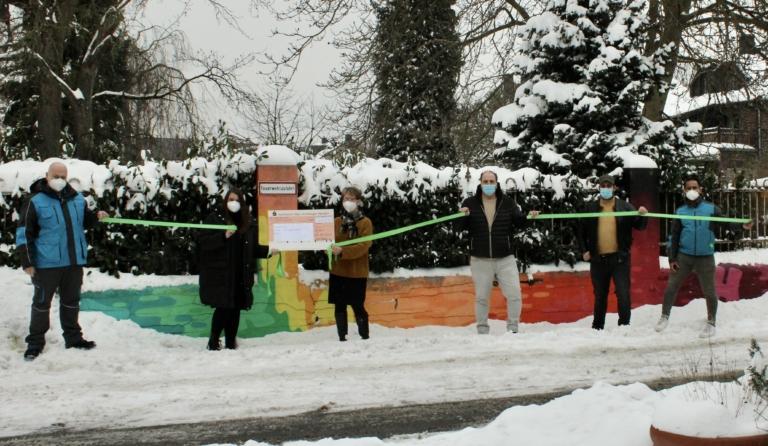 Spendenübergabe beim Ambulanten Kinder- und Jugendhospizdienst Lünen (Foto: Hermes)    Verantwortung; Spende;